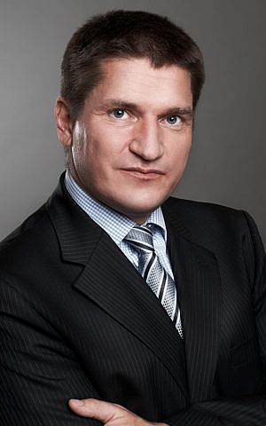 Intel Capital's VP Marcin Hejka (Courtesy)