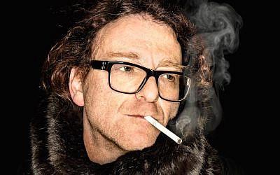 Self portrait of a  a 'punk rock provocateur' (courtesy / copyright Daniel Josefsohn)
