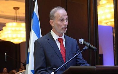 Israeli Ambassador to Peru Ehud Eitam (Embassy of Peru)