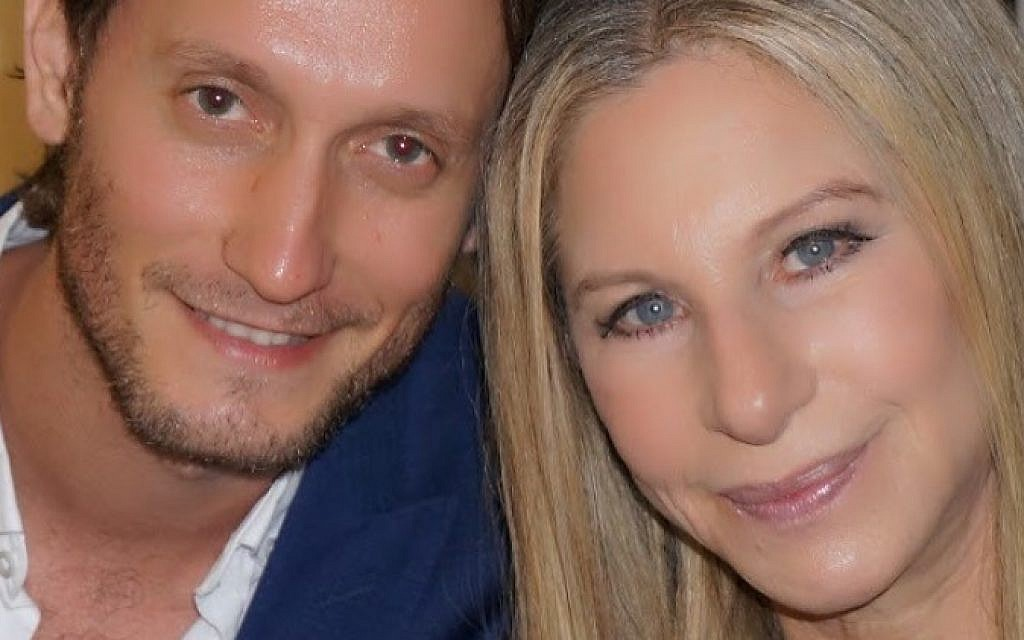 Lior Suchard and Barbra Streisand (courtesy)
