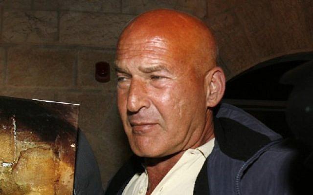 Rafi Refaeli, father of Israeli model Bar Refaeli, in 2007 (Michal Fattal/Flash90)
