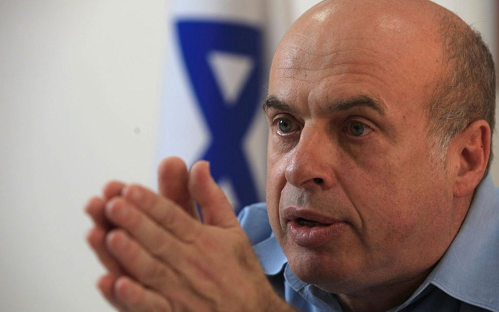 Natan Sharansky, chairman of the Jewish Agency. (Nati Shohat/Flash90)