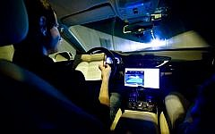 Mobileye provides technology in the area of software algorithms that could enable autonomous cars. (Moshe Shai/FLASH90)