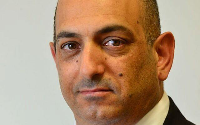 David Sharan, former chief of staff to Prime Minister Benjamin Netanyahu. (Kobi Gideon/GPO)