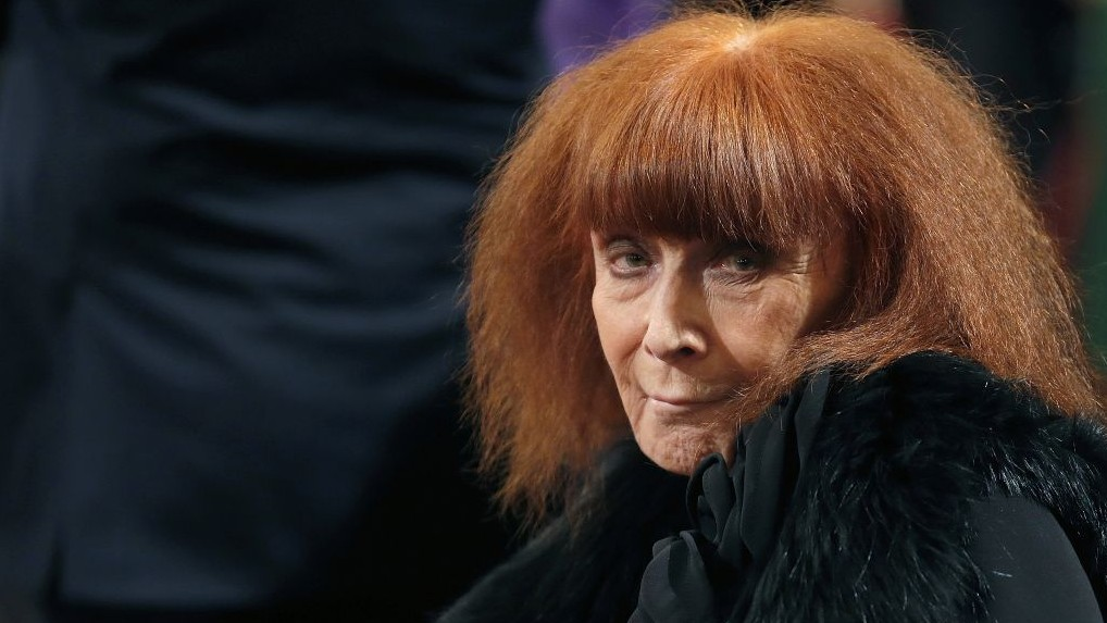80ee4f5750 French fashion designer Sonia Rykiel attends a ceremony in Paris