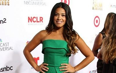 Gina Rodriguez in 2014 (Wikimedia Commons, Richard Sandoval, CC BY-SA 2.0)