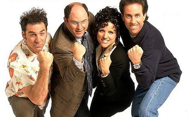 The cast of Seinfeld. (Wikimedia Commons, Andromedoide)