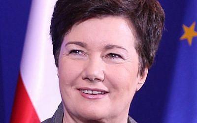 Warsaw Mayor Hanna Gronkiewicz-Waltz (Wikimedia Commons, Platforma Obywatelska RP, CC BY-SA 2.0)