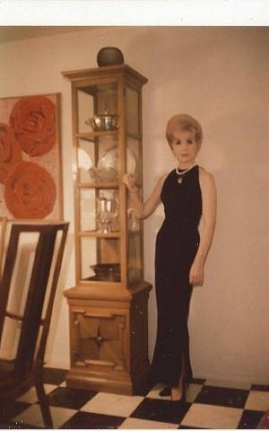 The author's mother, Rita Ellis Hammer, Forest Hills NY, circa 1965. (Courtesy)