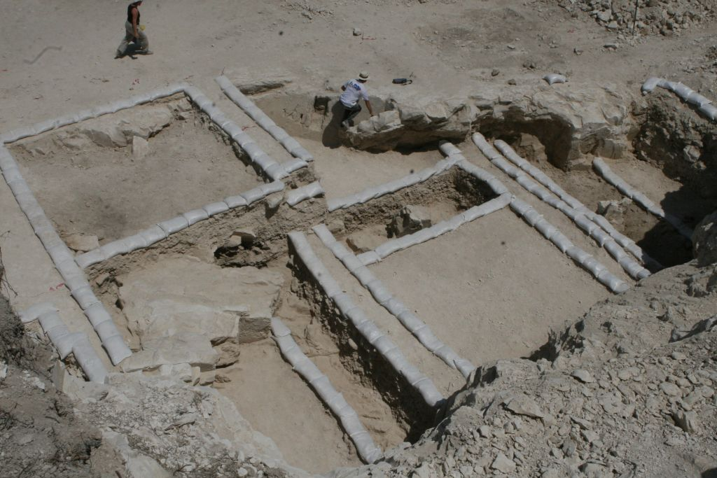 A Second Temple era chalkstone vessel factory in the Galilee excavated by archaeologists from Ariel University and the University of Malta. (Courtesy of Yonatan Adler)