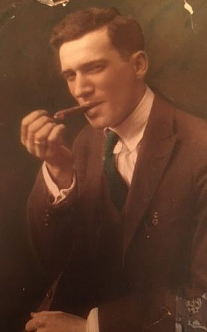 Philip Elice, Altman's maternal grandfather, Brooklyn NY, circa 1918. (Courtesy)