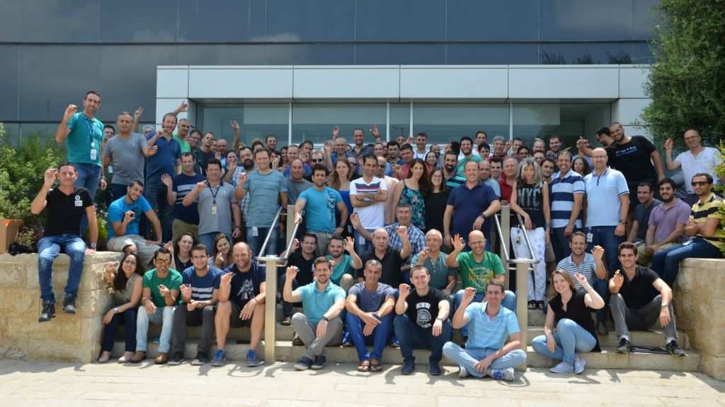 Intel's team in Haifa (Courtesy Mor Mazor)