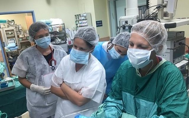 Staff at Kaplan Medical Center in Rehovot (Ofer Levi/ Kaplan Medical Center)