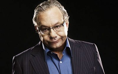 The famously agitated Jewish comedian Lewis Black is returning to Broadway. (Clay McBride/via JTA)