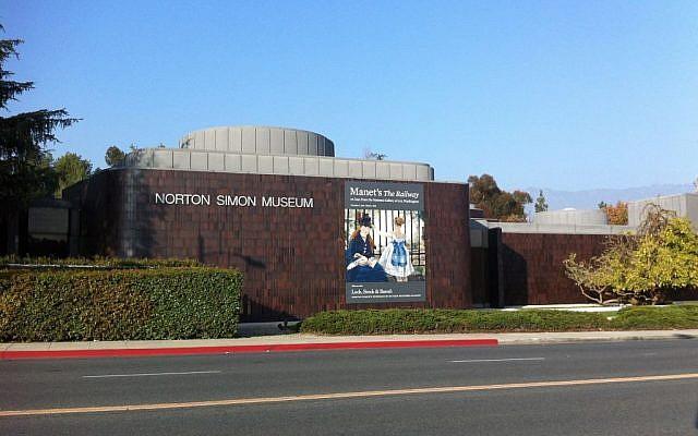 The Norton Simon Museum in Pasadena, California, January 21, 2015. (AP Photo/John Antczak,)