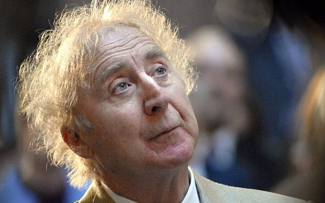 Actor Gene Wilder listens as he is introduced to receive the Governor's Awards for Excellence in Culture and Tourism at the Legislative Office Building in Hartford, Connecticut, on April 9, 2008. (AP Photo/Jessica Hill, File)