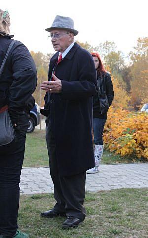 Philip Bialowitz Sobibor 2013. (CC-BY-SA/Anton-kurt/Wikimedia)