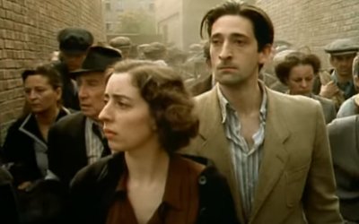 Adrien Brody appears as Wladyslaw Szpilman in a scene from the Holocaust movie 'The Pianist' (Courtesy)