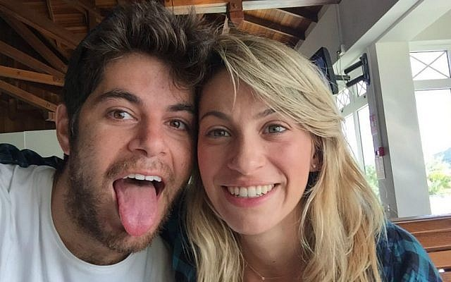 Yotpo's Tomer Tagrin and his wife Adi (Courtesy)