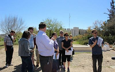 Rabbinical students visit Hebron 2014 in a trip organized by T'ruah: The Rabbinic Call for Human Rights (Facebook)