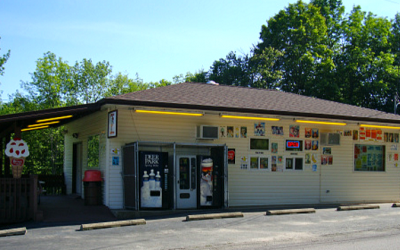 The beloved, and kosher, Jericho Dairy Bar in Lake Como, Pennsylvania (Courtesy Jericho Dairy Bar)