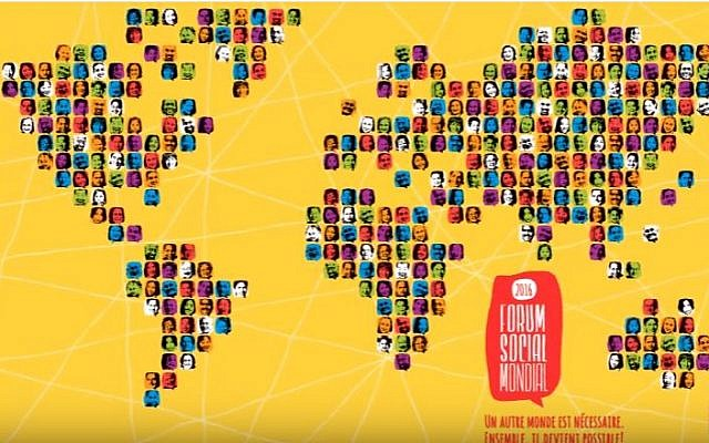 Poster for the World Social Forum, scheduled for August 9-14, 2016. (YouTube/Foro social mundial)