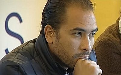 Egyptian human rights lawyer Malek Adly (YouTube screenshot)