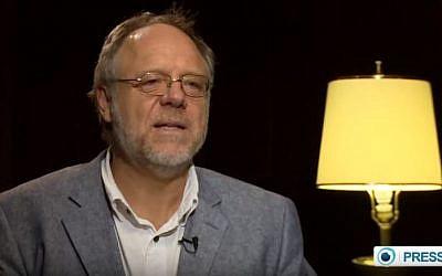 9/11 conspiracy theorist Kevin Barrett. (PressTV News Videos/YouTube)