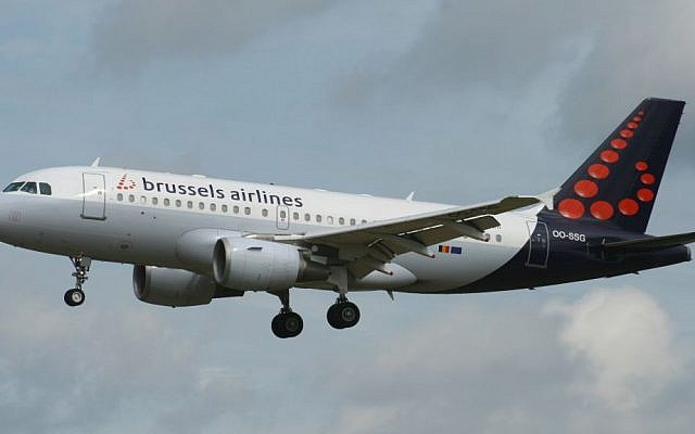 Illustrative image of a Brussels Airlines  Airbus A319-100 at the Brussels Airport on October 28, 2007. (CC BY-SA Wikimedia commons)