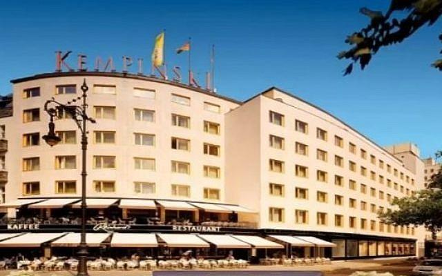The Kempinski Hotel Bristol In Berlin Germany Screen Capture You