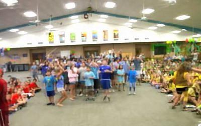 URJ Greene Family Camp, Bruceville, Texas (Screen capture: YouTube)