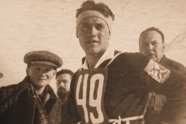 Bronislaw Czech, an Olympic skier and instructor murdered during the Holocaust (public domain)