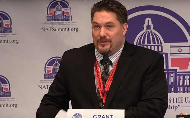 Grant Smith, the director of the Institute for Research: Middle Eastern Policy (screen capture: YouTube)