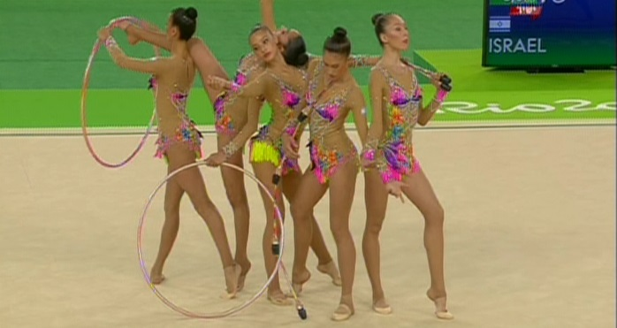 Israel rhythmic gymnastics team misses out on medals in Rio | The