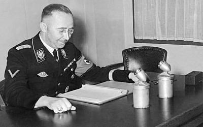 Heinrich Himmler in 1939 (AFP)