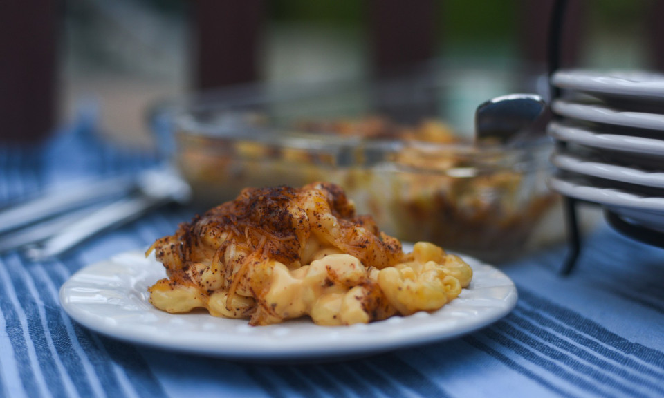 Koshershoul macaroni and cheese 'kugel' by Michael Twitty. (Tami G. Weiser/ Courtesy)