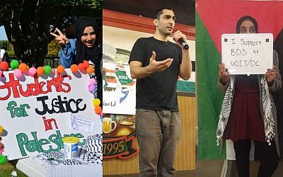 One of the most active chapters of Students for Justice in Palestine, at the University of Ontario Institute of Technology, organizing anti-Israel campaigns and events throughout the year (SJP at UOIT/DC Facebook page)