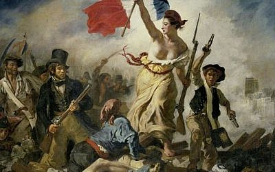 Liberty Leading the People, by Eugène Delacroix