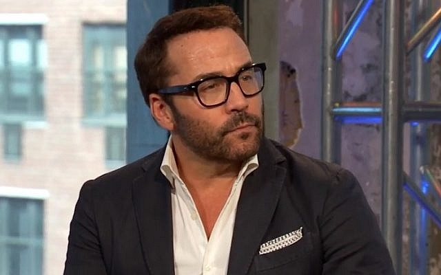 TV star Jeremy Piven (screen capture: YouTube)