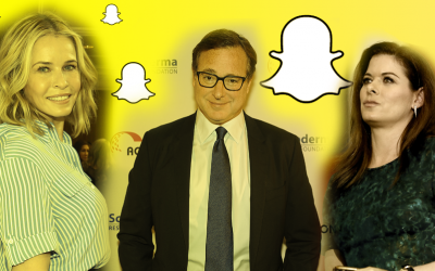 L to R: Snappers Chelsea Handler (Mark Davis/Getty Images), Bob Saget (Trisha Leeper/Getty Images) and Debra Messing (Justin Sullivan/Getty Images)