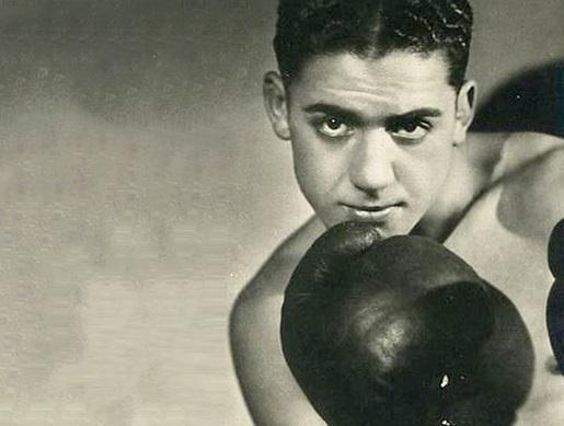 Victor 'Young' Perez, a Tunisian-born Jewish boxer murdered at Auschwitz-Birkenau (public domain)