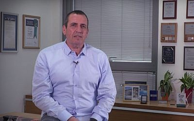Eyal Waldman, president and CEO of Mellanox Technologies Ltd. (YouTube)