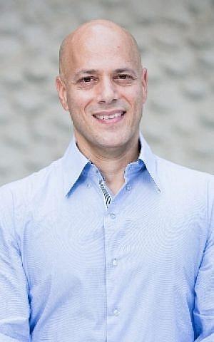 Samsung Next's Eyal Miller in Tel Aviv (Courtesy: Tomer Foltyn)