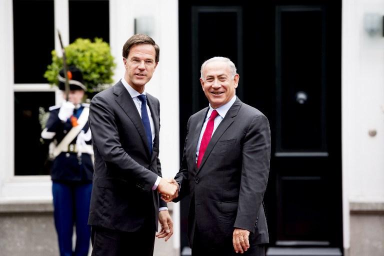 Maurits Hendriks Netherlands Prime Minister Mark Rutte L