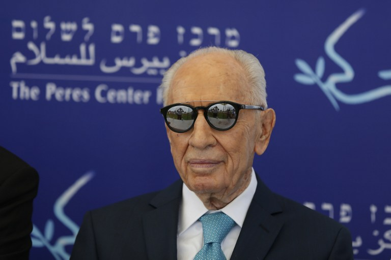 Shimon Peres urged Israel to dream and innovate | The ...