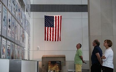 Visitors browse the exhibit at the 9/11 Gallery of the Newseum on September 9, 2016 in Washington, DC, two days before the nation marks the 15th anniversary of the terror attacks. (Alex Wong/Getty Images/AFP)
