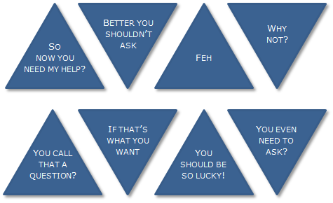 Some sample answers from the Jewish Wisdom Ball. (Courtesy)