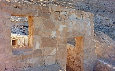 A 1,500-year-old stable is unearthed in the Avdat national park (Israel Antiquities Authority/Courtesy)