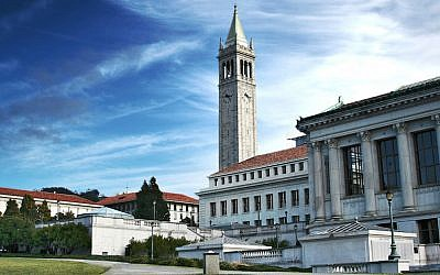 The University of California, Berkeley. (Charlie Nguyen/ Flickr, CC BY 2.0/via JTA)