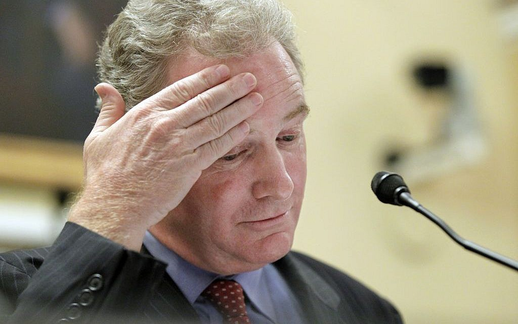 "Rep. Chris Van Hollen testifies before the House Rules Committee on the so-called ""cut, cap and balance"" plan proposed by tea party-backed House Republicans (J. Scott Applewhite/AP)"